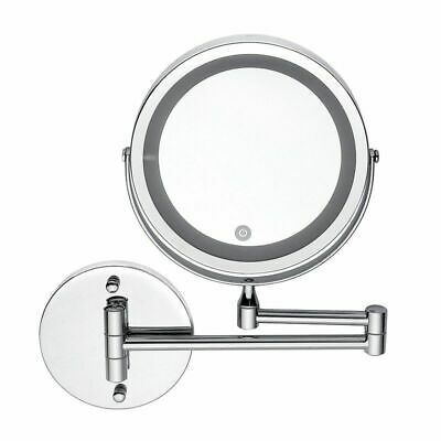 Led 10x Magnifying Makeup Shaving Vanity Mirror Bathroom Wall Mount 360 D4d4b7 In 2020 Bathroom Mirror Led Makeup Mirror Makeup Mirror With Lights
