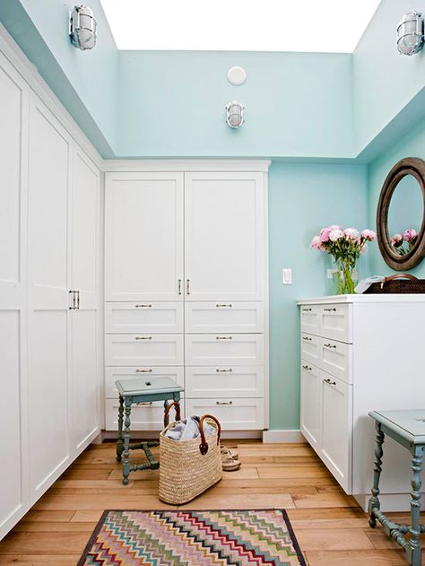 Whether you prefer open shelves or closed cabinets, customize your closet to fit your needs: http://www.bhg.com/decorating/closets/walk-in/walk-in-closet-design-ideas/?socsrc=bhgpin022315customizetoyou&page=2