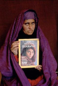 Living War, The Afghan Girl found 17 yrs. after her cover on National Geographic was taken.