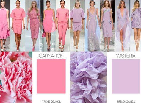 light summer pinks and purples