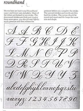 Abecedario De Letra Cursiva Domingo 14 De Abril De 2013 Estilos De Letras Tipos De Letras Alfabeto Cursiva