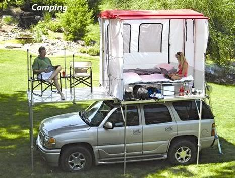 Camp N See Rooftop Tent Expedition Portal Truck Camping