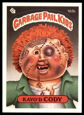 1986 Topps Garbage Pail Kids Series 3 Kayo D Cody 102b Ebay Garbage Pail Kids Garbage Pail Kids Cards Kids Series
