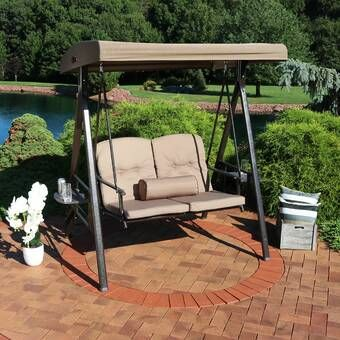 39++ Wicker patio swing with canopy information