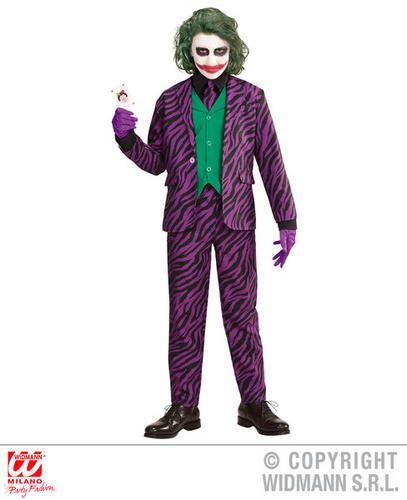 Halloween Costume 4 5.Boys Kids Childs Evil Joker Halloween Fancy Dress Costume Outfit 4 5