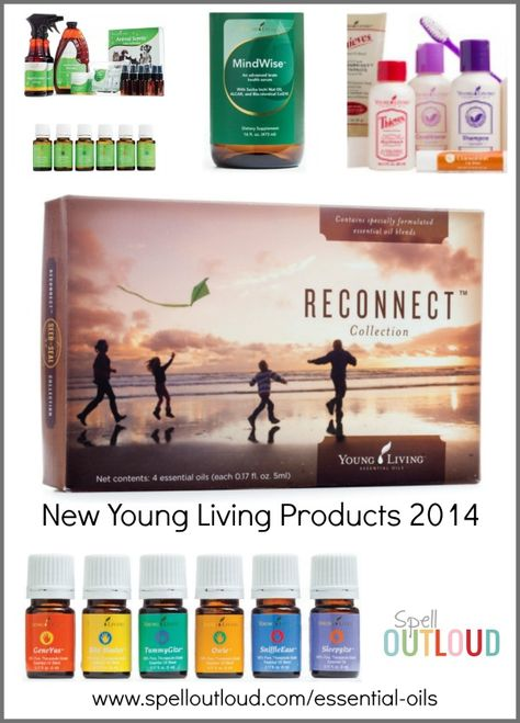 New Young Living products 2014 -- KidScents collection, Animal Essential Oils kit, skincare items and more!