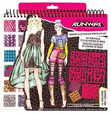 Amazon Com Fashion Angels Project Runway Portfolio Toys Games Fashion Girl Design Girls Fashion Tween Fashion Angels
