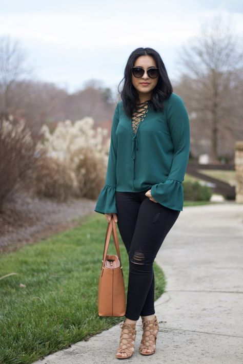 Green bell sleeve is part of Green bell sleeve -