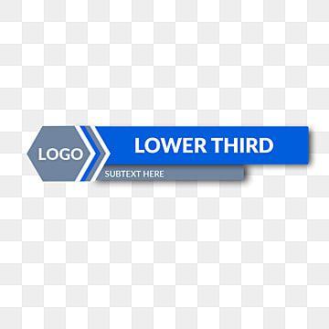 Tercio Inferior Para Plantilla De Noticias Iconos De Noticias Iconos De Plantilla Vector Png Y Psd Para Descargar Gratis Pngtree Lower Thirds Clip Art Vector Graphics