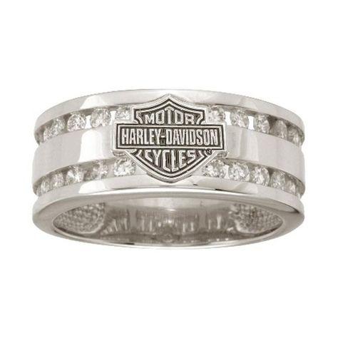 Harley Davidson Wedding Rings.Pinterest