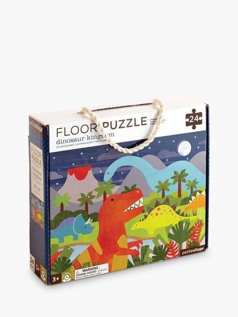 Wild Rainforest Petit Collage Floor Puzzle 24 Pieces