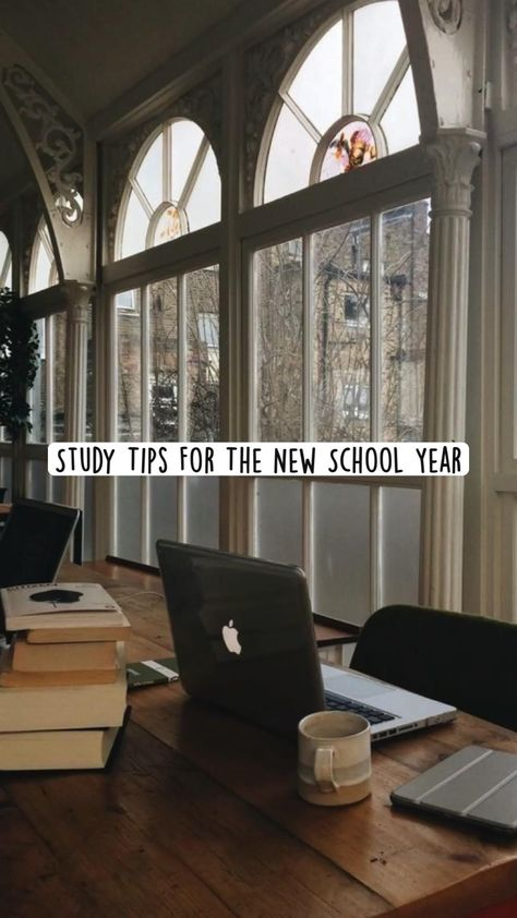 Study Tips For The New School Year
