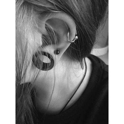 Gauges<3 ❤ liked on Polyvore featuring piercings, jewelry, earrings, pictures, photos and backgrounds