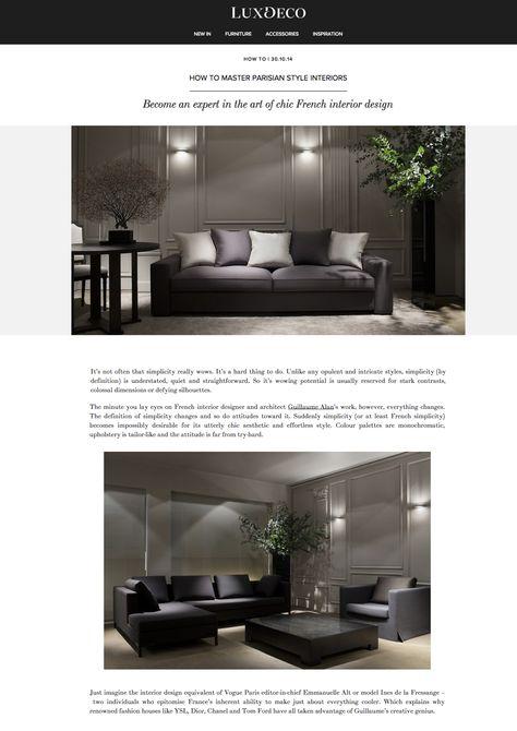 Master Of Chic French Interior Design