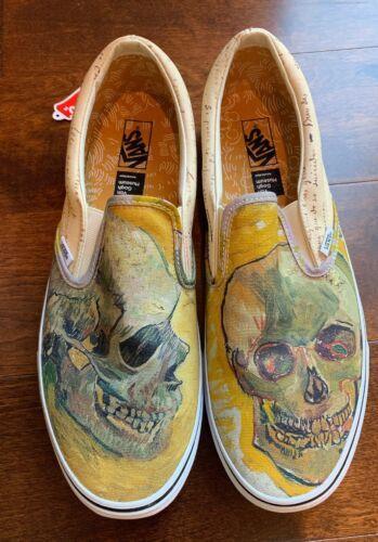 Vans X Sneakers Vincent Van Gogh Skull Classic Slip On Sz Men 13 Vans Vans Slip On Shoes Vans Classic Slip On Sneaker