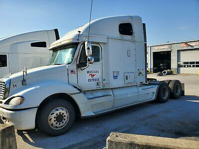 Trailers And 2003 Freightliner Columbia Detroit 60 Ebay Freightliner Trailer Vehicles