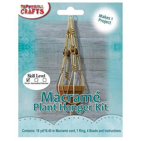 Plant Hanger Macrame