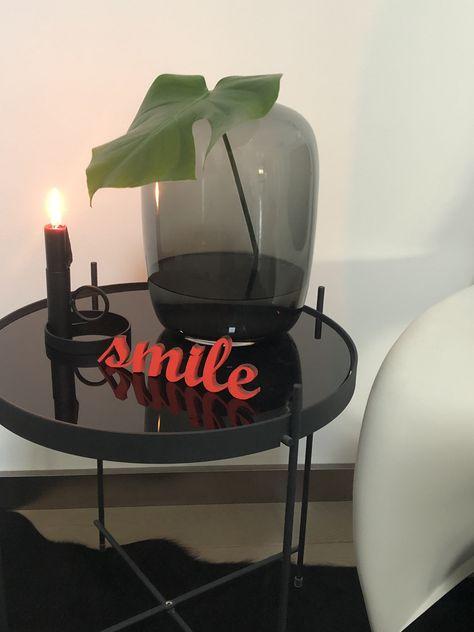 Kerzenstander Schriftzug Smile Wiwaconcept Geschenkideen Mit Bildern Schone Zuhause Wohnaccessoires