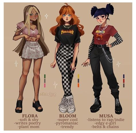 Cute Art Styles, Cartoon Art Styles, Retro Outfits, Girl Outfits, Fashion Outfits, Fashion Design Drawings, Fashion Sketches, Kleidung Design, Drawing Anime Clothes