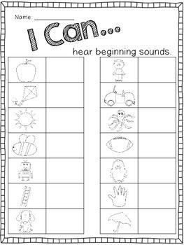 {Simple Daily Assessments for the First Week} Letter Assessment, Kindergarten Assessment, Formative Assessment, Kindergarten Activities, Letter Activities, Preschool Learning, Kindergarten Worksheets, Teaching Art, First Grade Phonics