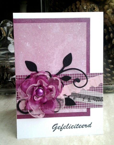 roze en voile  cards my favorite things flowers