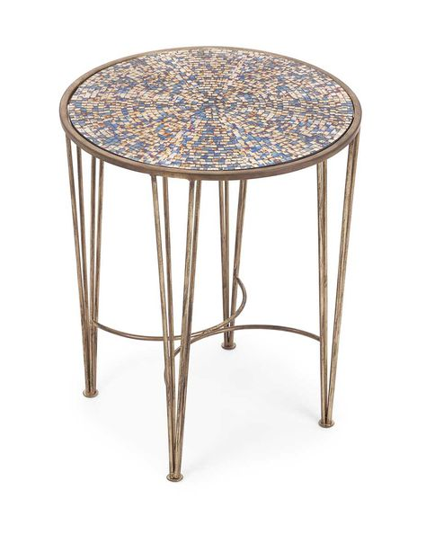 Imax Carlie Mosaic Accent Table Mosaic Accent Table