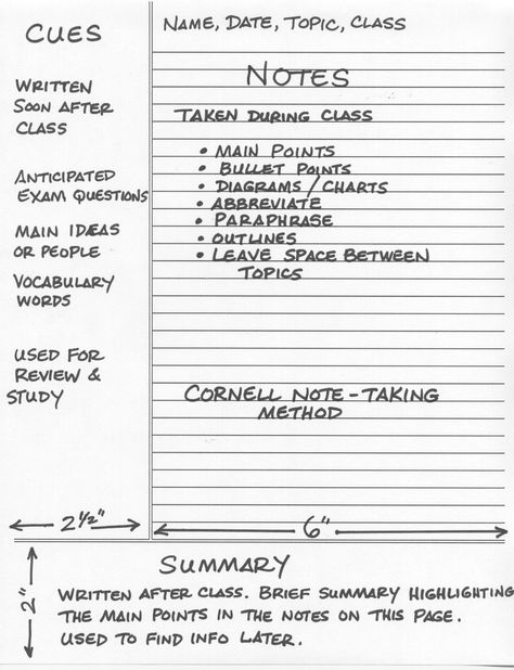 Meeting Note Taking Template Geek To Live Take Studyworthy Lecture Notes  Cornell Notes Note .