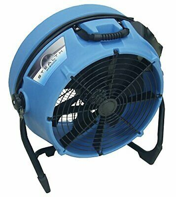 Ad Ebay Url Dri Eaz Stealth Av3000 24 High Velocity Axial Fan F568 2600 Cfm Blue Industrial Fan Stealth Ventilation Fan