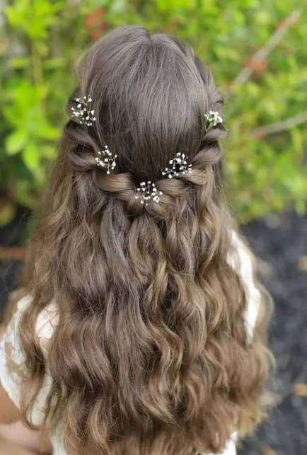 Best Wedding Girl Hairstyles Hairstyle