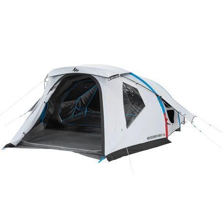 Tienda De Camping Familiar Air Seconds 4 Xl F B 4 Personas Xl Fresh Black Zelten Quechua Zelt Camping Ausrüstung