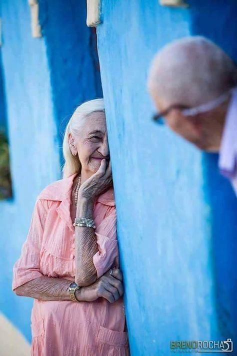 Gorgeous! Age is no barrier to the enjoyment of life and love!