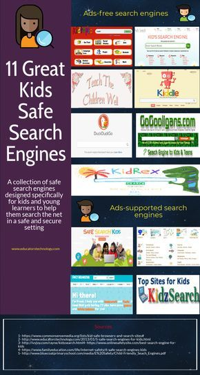 11 Great Kids Safe Search Engines Safe Search Engine Safe