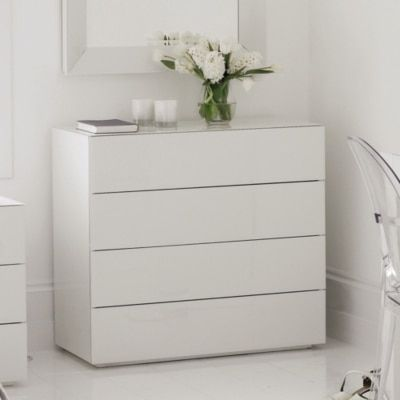 Carlton Glass Chest Of Drawers White One Size In 2020 Bedroom Chest Of Drawers White Bedroom Furniture Bedroom Drawers