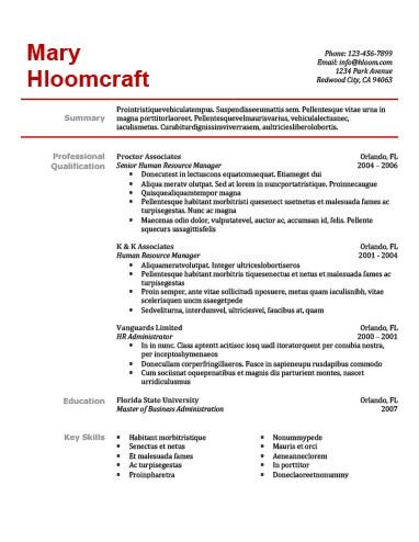 Simple Resume Templates 75 Examples Free Download Hloom Simple