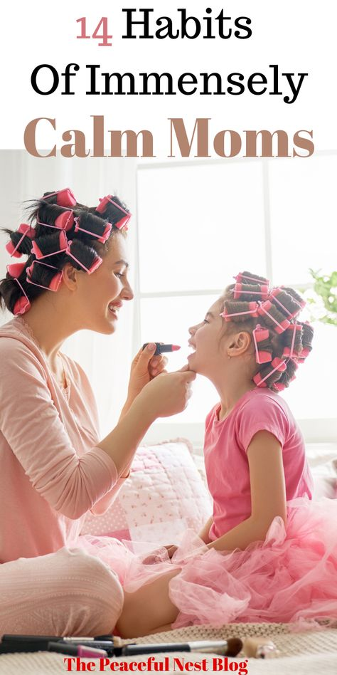 Become a calmer mom with these 14 simple and doable habits for every day - Parenting interests Peaceful Parenting, Gentle Parenting, Kids And Parenting, Parenting Hacks, Mindful Parenting, Parenting Ideas, Happy Mom, Mom Advice, Baby Kind