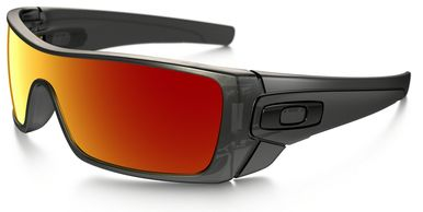 38b2902faa522 Oakley Batwolf Sunglasses with Matte Black Ink Frame and Ruby Iridium Lens