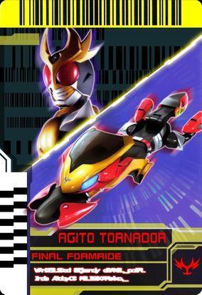 Final Form Ride Agito Tornador Jpg Kamen Rider Rider Kamen Rider Decade