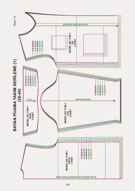Bolero PDF 36-44 patrones de corte y nähanleitung talla