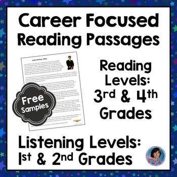 Career Exploration Reading Comprehension Passages And Questions