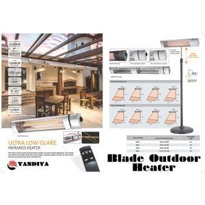 Blade Infrared Bar Heater 1800 Watt No Power Plug With Images Patio Heater