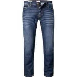 Straight leg jeans for men - bugatti jeans men, stretch cotton, blue BugattiBugatti -