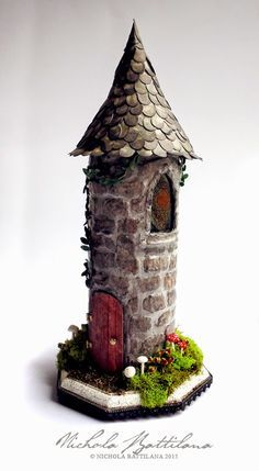 Upcycled Rapunzel Tower - Nichola Battilana