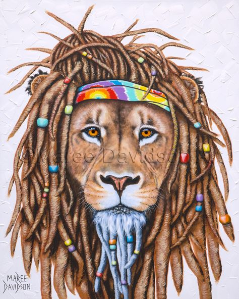 RAINBOW COLLECTION - HIPPIE LION