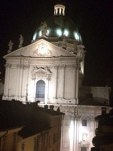 Il Duomo Di Brescia Dalla Terrazza Del Grand Hotel Vittoria