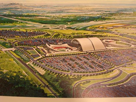 Truman Sports Complex Proposed Rolling Roof | Ball Parks | Pinterest |  Kansas And Kansas City Royals