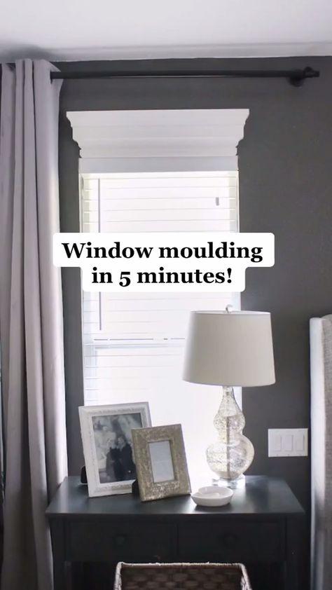5 minute window moulding