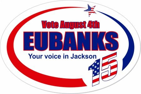 Customize this oval sticker about patriotic politics political stars stripes election vote country makestickers com elect eubanks pinterest