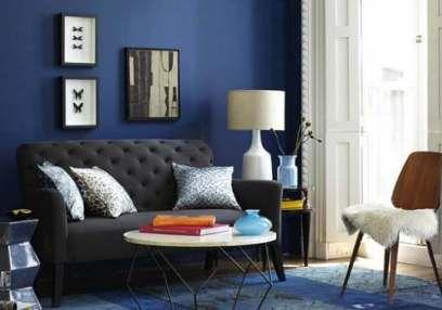 10 Warna Cat Ruang Tamu Sempit Sulap Ruangan Jadi Terasa Luas Istimewa Ruang Tamu Biru Desain Kamar Ide Dekorasi Rumah