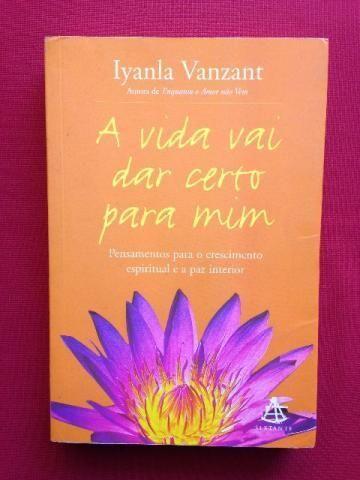 Livro A Vida Vai Dar Certo Para Mim Iyanla Vanzant Livros