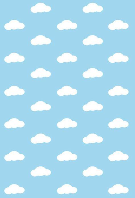 Newborns photography backdrop, vintage clouds in sky pattern photo background, children birthday par